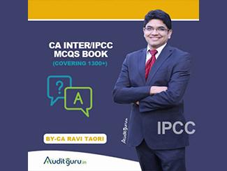 CA Inter Audit (MCQs) Book by CA Ravi Taori