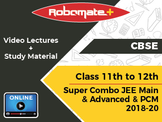 CBSE Class 11th to 12th Super Combo JEE Main and Advanced and PCM Video Lectures 2018-20 (Online, 2 Years)