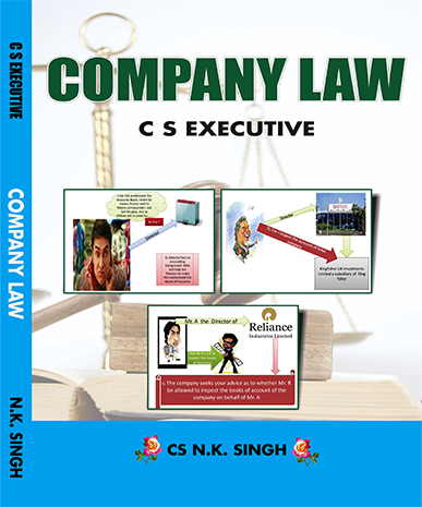 CS Executive New Syllabus Company Law Book by CS NK Singh