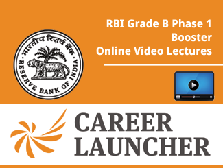 RBI Grade B Phase 1 Booster Online Video Lectures
