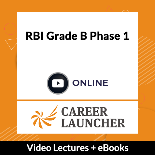 RBI Grade B Phase 1 Online Video Lectures