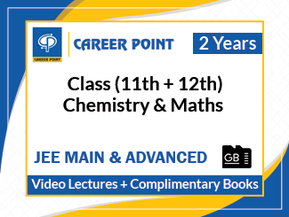 Class (11th + 12th) Chemistry & Maths Video Lectures for JEE Main & Advanced (SD Card, 2 Years)