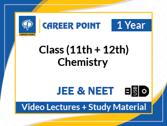 Class (11th + 12th) Chemistry Video Lectures for JEE & NEET (USB, 1 Year)