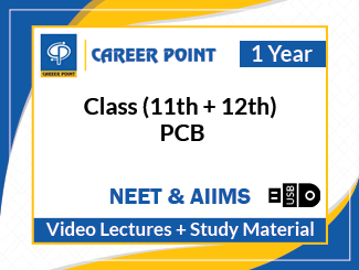 Class (11th + 12th) PCB Video Lectures for NEET & AIIMS (USB, 1 Year)