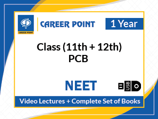 Class (11th + 12th) PCB Video Lectures with Complete Set of Books for NEET (USB, 1 Year)