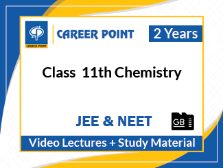 Class 11th Chemistry Video Lectures for JEE & NEET (2 Years, SD Card)