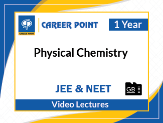 JEE & NEET Physical Chemistry Video Lectures (1 Year, SD Card)