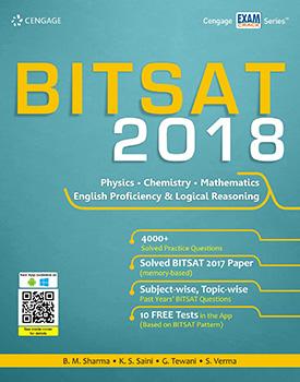 BITSAT 2018 Book by B. M. Sharma, K.S. Saini, G. Tewani, S. Verma