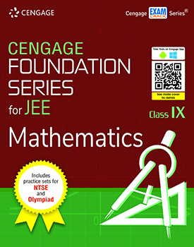 Cengage Foundation Series for JEE Mathematics: Class 9 Book
