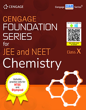 Cengage Foundation Series for JEE and NEET Chemistry: Class 10 Book