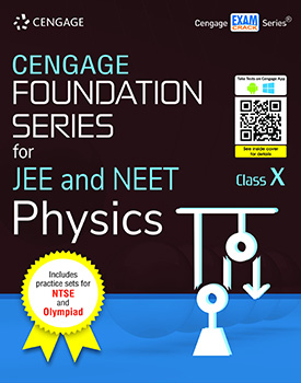 Cengage Foundation Series for JEE and NEET Physics: Class 10 Book