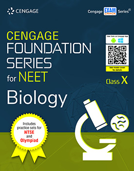 Cengage Foundation Series for NEET Biology: Class 10 Book