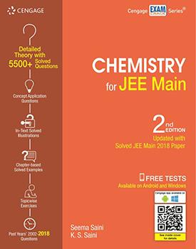 Chemistry for JEE Main Book by Seema Saini, K. S. Saini