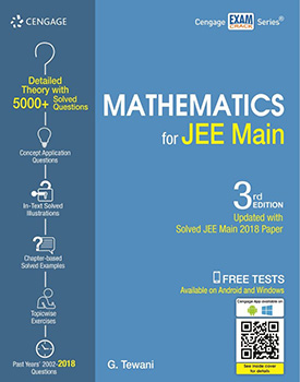 Mathematics for JEE Main Book by G. Tewani