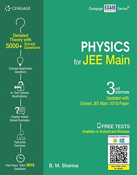 Physics  for JEE Main Book by BM Sharma