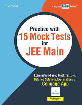 Practice with 15 Mock Tests for JEE Main Book