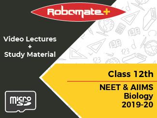 Class 12th NEET and AIIMS Biology 2019-20 (SD Card)