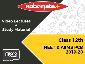 Class 12th NEET and AIIMS PCB Video Lectures 2019-20 (SD Card)