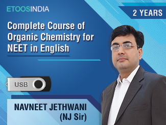 Complete Course of Organic Chemistry for NEET in English by NJ Sir (USB) 2 Years
