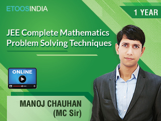 JEE Complete Mathematics Problem Solving Techniques by MC Sir (VOD)
