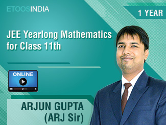 JEE Yearlong Mathematics for Class 11th by ARJ Sir (VOD)
