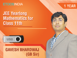 JEE Yearlong Mathematics for Class 11th by GB Sir (USB)