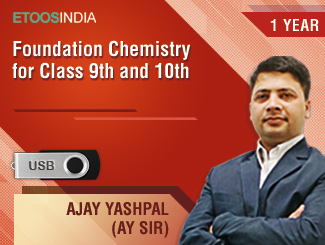 Foundation Chemistry for Class 9th and 10th by AY Sir (USB)