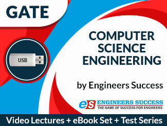 GATE CS & IT Engineering (USB + E-Book Set + Test Series) Combo by Engineers Success