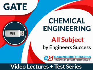 GATE Chemical Engineering All Subject Video Lectures by Engineers Success (USB)