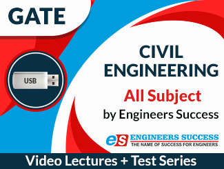 GATE Civil Engineering All Subject Video Lectures by Engineers Success (USB)