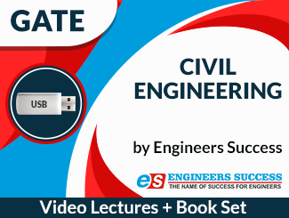 GATE Civil Engineering (USB + Book Set) Combo by Engineers Success