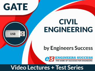 GATE Civil Engineering (USB + Test Series) Combo by Engineers Success