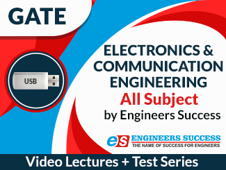 GATE ECE Engineering All Subject Video Lectures by Engineers Success (USB)