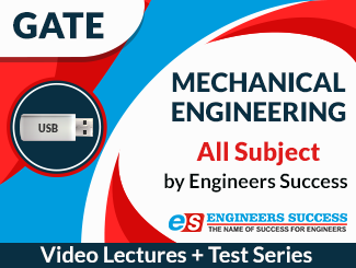 GATE Mechanical Engineering All Subject Video Lectures by Engineers Success (USB)