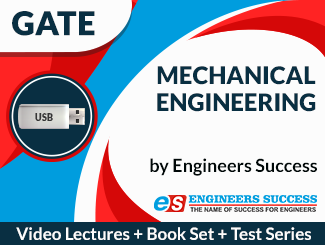 GATE Mechanical Engineering (USB + Book Set + Test Series) Combo by Engineers Success