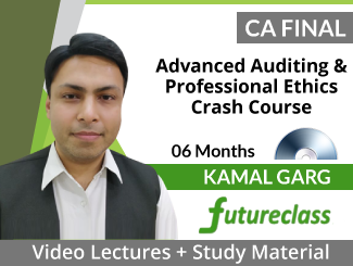 CA Final Advanced Auditing and Professional Ethics Crash Course Video Lectures by Kamal Garg (DVD)