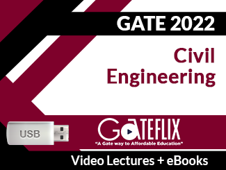GATE 2022 Civil Engineering Video Lectures (USB)