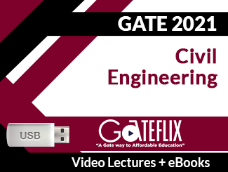 GATE 2021 Civil Engineering Video Lectures (USB)