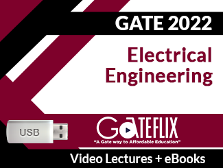 GATE 2022 Electrical Engineering Video Lectures (USB)