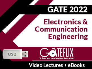 GATE 2022 Electronics and Communication Engineering Video Lectures (USB)