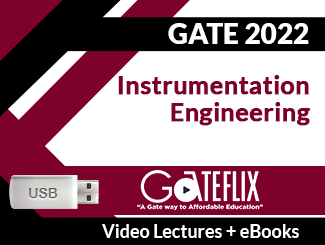 GATE 2022 Instrumentation Engineering Video Lectures (USB)