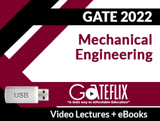 GATE 2022 Mechanical Engineering Video Lectures (USB)