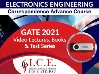 GATE Correspondence Advance Course for Electronics Engineering in USB (2021)