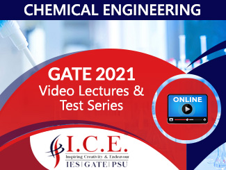GATE Online Lectures & Test Series for Chemical Engineering (2021)