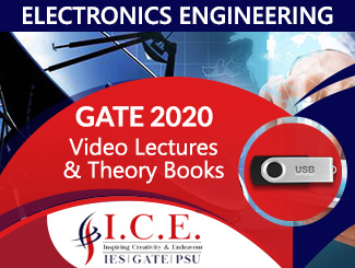 GATE 2020 Video Lectures in USB + Theory Books for EC