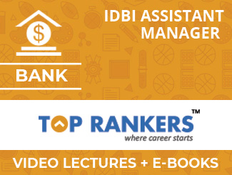 IDBI Assistant Manager Complete Video Lectures