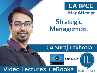 CA IPCC Strategic Management Video Lectures by CA Suraj Lakhotia May Attempt (Online)