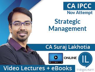 CA IPCC Strategic Management Video Lectures by CA Suraj Lakhotia Nov Attempt (Online)