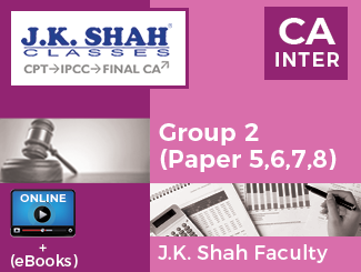 CA Inter - Group 2 (Paper 5,6,7,8) Online Classes