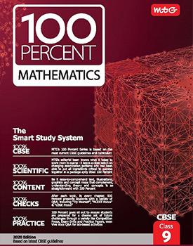 MTG 100 Percent Mathematics Book for CBSE Class 9